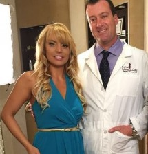Ana Gambino with Dr. Jabal Uffelman, M.D.