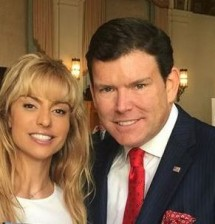 Ana Gambino with FOX News Chief Political Anchor, Bret Baier