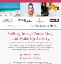 Event: Beauty & Fashion Brunch - Keynote Speaker: Ana Gambino