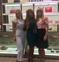 Shopping with Gambino at Gucci