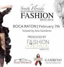 South Florida Boca Raton Fashion Week, Feb, 7th