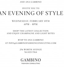 Event: An Evening of Style - St. John Palm Beach & Ana Gambino
