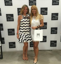MILLY Designer, Michelle Smith with Ana Gambino