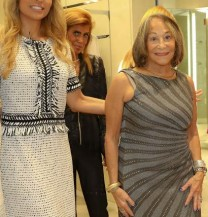 Ana Gambino guiding different styles at the Evening of Style Event - ST. John/ Palm Beach