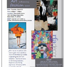 Art influencing Fashion Event at Clive/ Daniel Home