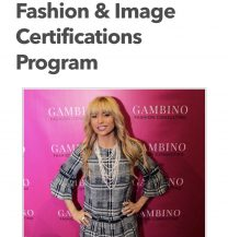 Fashion & Image Certifications Program..