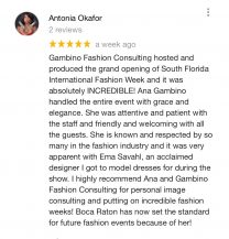 Review from Antonia Okafor