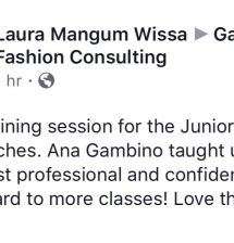 Review from Laura Wissa about the presentation by Ana Gambino.