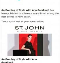 ST John event