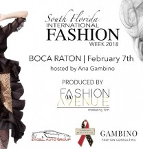 South Florida Boca Raton Fashion Week, Feb, 7th